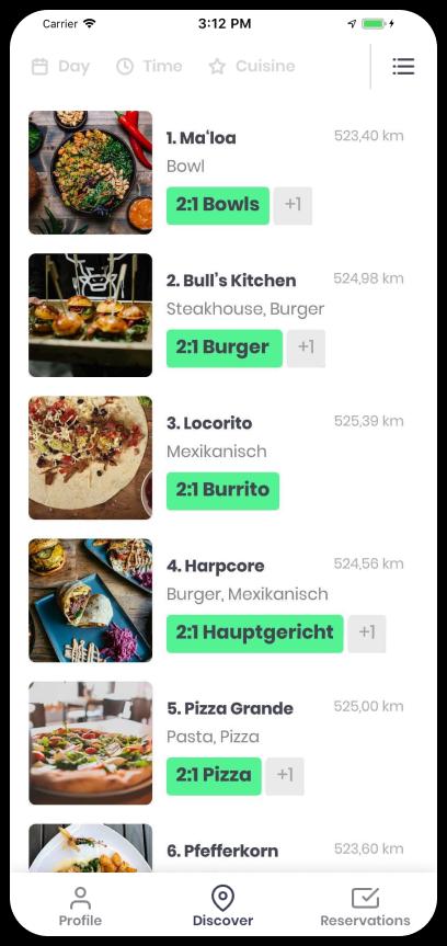 Foodisto List